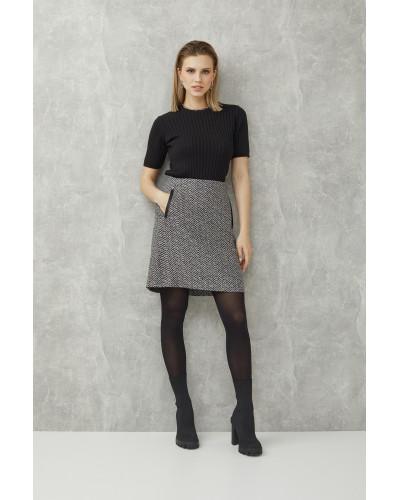 Женская осенняя юбка 3411 Nika